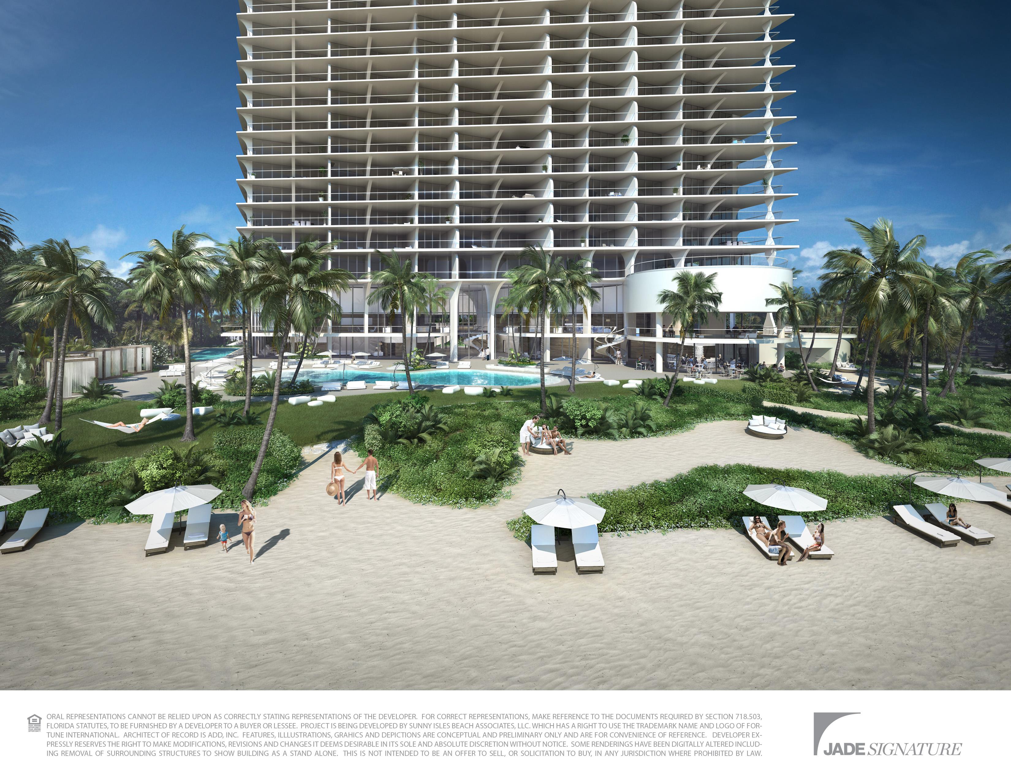 Jade Signature Sunny Isles Fl Miami Beach Luxury Ocean