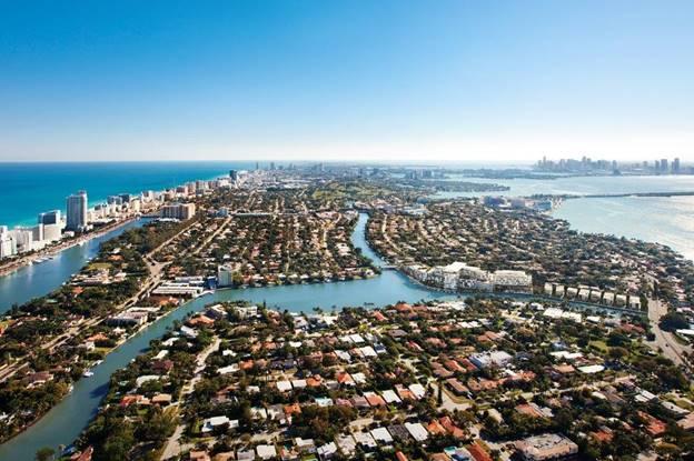 Aerial Perspective   The Ritz-Carlton Residences Miami Beach