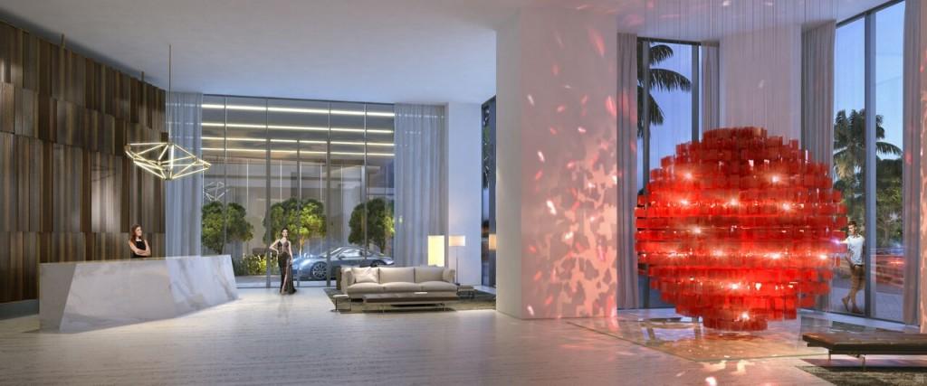 Lobby Auberge Miami