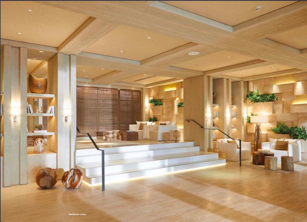 1 Hotel & Homes South Beach Miami Real Estate Residence Lobby